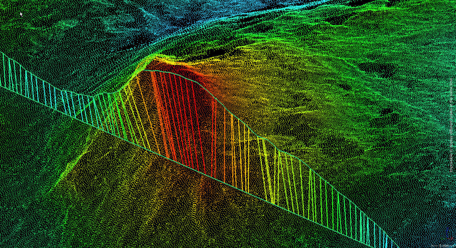 Point Cloud with analysis